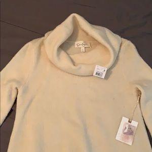 Jessica Simpson Maternity Cowl Neck Tunic Sweater